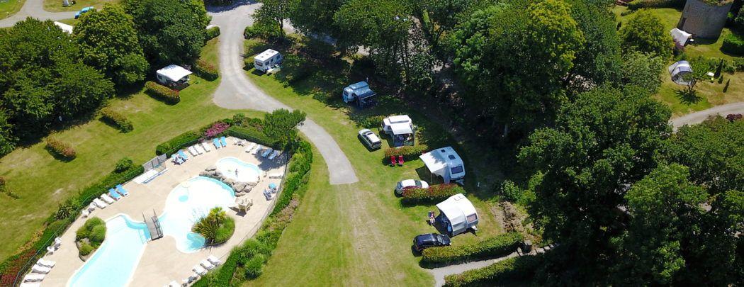 Camping Mont Saint Michel  Saint Malo  Cancale Piscine  Locations