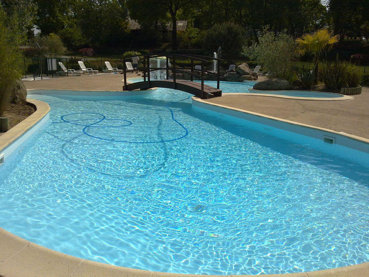 Campsite with swimming-pool Mont-Saint-Michel. Spa Jacuzzi Balneo